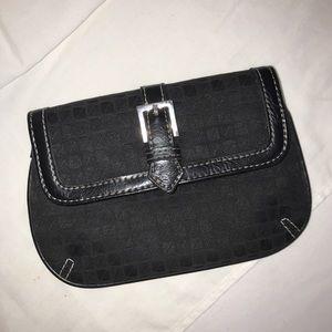 Nine&Co. Black Errand Gal Snap CoinCard Mini Purse